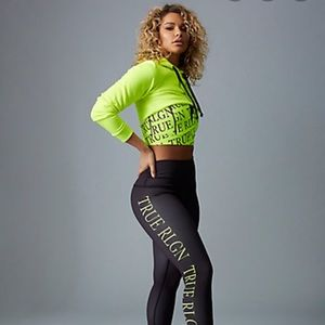 True religion workout set